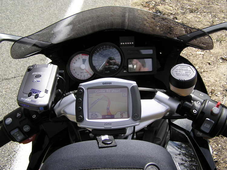 The Garmin Zumo 590 GPS Built for the Biker